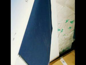 100% Polyester Fleece atmungsaktiv PVC-beschichtetes wasserabweisendes Pongee-Gewebe für Outdoor-Jacke