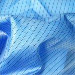 Antistatischer Webstoff 5mm Streifen Twill Polyester für antistatische Kleidungsstücke