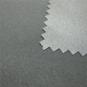 100% Polyester Pongee beschichtet wasserdicht im Freien Daunenjacke Stoff