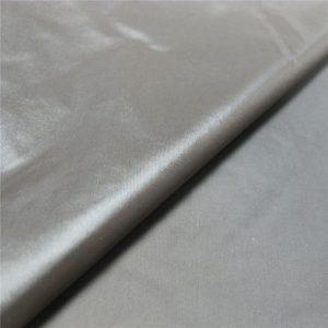 100% Nylon PU Downproof Fabric für Daunenjacke / Tasche / Regenschirm