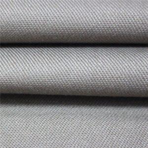 Flammhemmendes Satingewebe-Arbeitskleidungsmaterial EN11612 FR Baumwollgewebe 350gsm für Coverall
