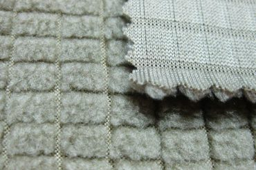 Polyester-Fleece-Stoff