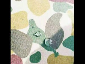 Wasserdichte 1000D Nylon Cordura Australien Camo bedruckt Stoff
