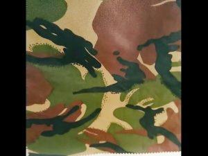 Tarndruck wasserdichtes Ripstop Nylon Oxford Uniform Militärgewebe