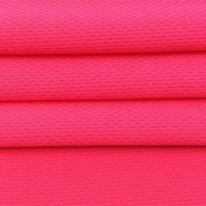 schnell trocknendes Polyester-Vogelaugen-Maschengewebe für Sportt-shirt